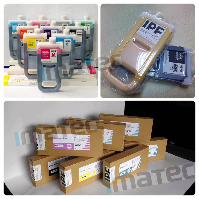 Alternative Lucia Pigment Ink One Time Chip , Replacement Printer Ink Cartridges