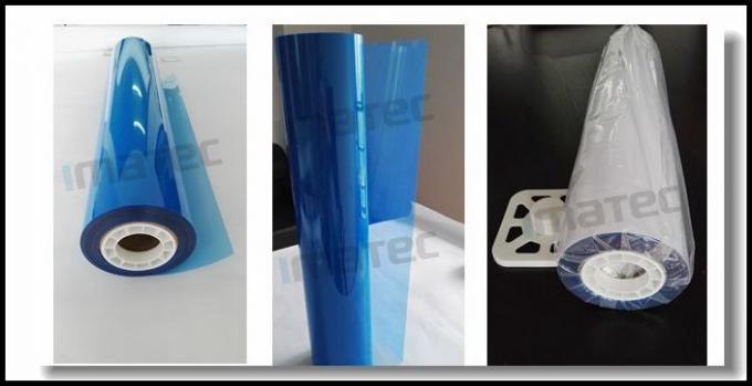 High Definition Inkjet Medical Imaging Film Rolls PET Blue Sensitive 215 Micron