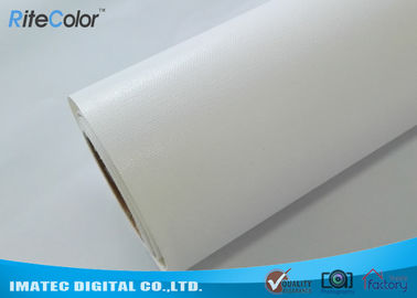 360Gsm / Sqm Glossy Art Canvas Rolls Poly - Cotton For Eco Solvent Printer