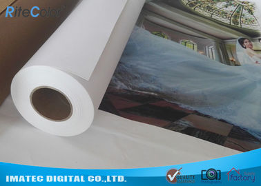 চীন 380gsm Matte Eco Solvent Printable Canvas , Plotter Inkjet Cotton Canvas Rolls কারখানা