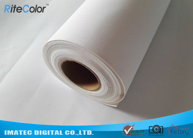 চীন 360 gsm Aqueous Inkjet Cotton Canvas Matte Inkjet Printable Canvas Cotton - Poly Blend কারখানা