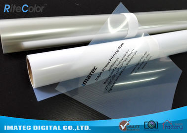 Milky Transparent Inkjet Screen Printing Film Inkjet Plate Making Film 100 Micron