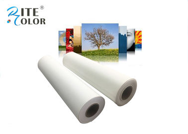 চীন Eco Solvent Ink Matte Digital Printing Canvas Roll 380gsm For Printers কারখানা