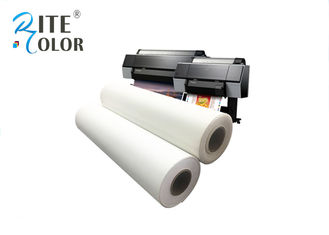 চীন Glossy Inkjet Cotton Canvas Roll , 400gsm White Silky Digital Printing Canvas কারখানা