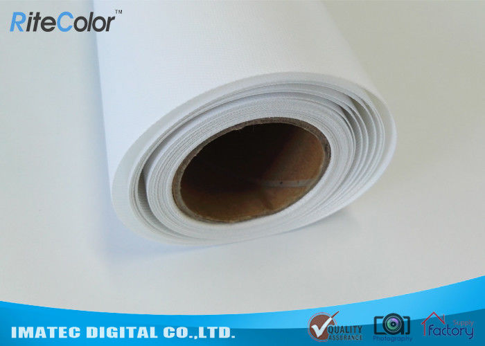 HP Inkjet Printers Digital Print Latex Media 100% Polyester Canvas Fabric সরবরাহকারী