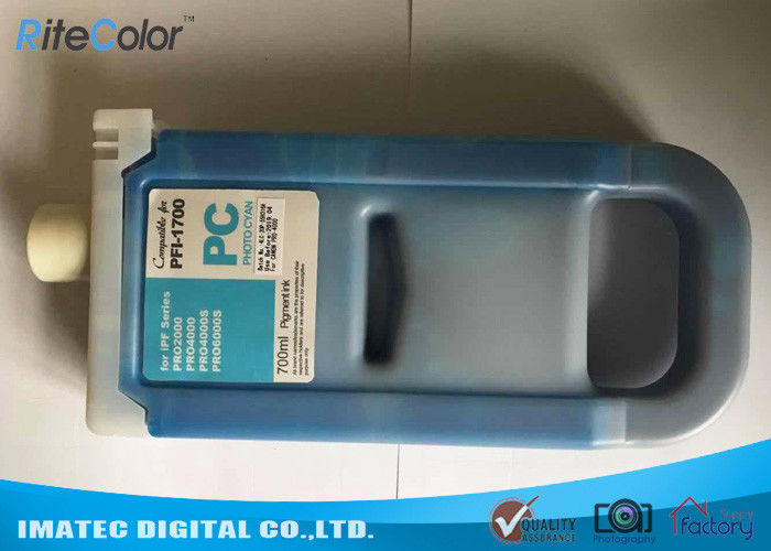 Canon Pro 4000 4000s Compatible Printer Cartridges 700ml With Chips Pfi - 1700