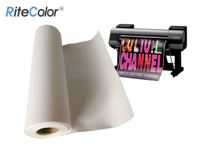 360gsm Large Format Matte Polyester Cotton Artist Canvas Fabric Roll