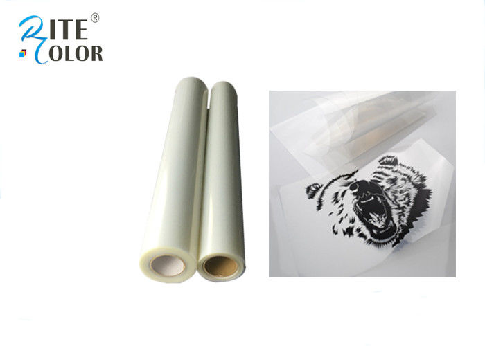 Milky Screen Printing Inkjet Film Waterproof One Sided Semi - Transparent সরবরাহকারী