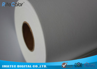 চীন 10Mil Thickness Polyester Canvas Rolls / 260Gsm Water Resistant Canvas কারখানা