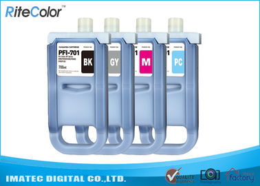 চীন Large Format Inks 700Ml Compatible Ink Cartridges For Canon iPF8000 / 8000S পরিবেশক