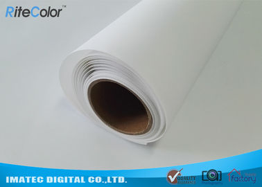 চীন Large Format Matte Polyester Canvas Rolls For Art Inkjet Digital Printing কারখানা