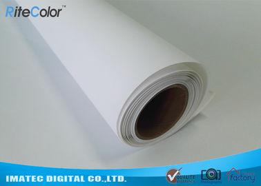 চীন 300D x 600D Polyester Canvas Rolls / Matte Polyester Print Fabric For Pigment Ink পরিবেশক