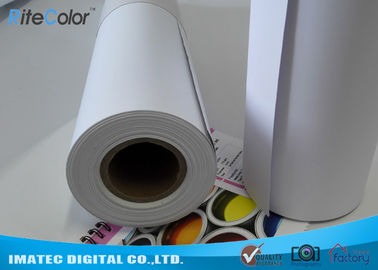 চীন Matte Printable PP Synthetic Paper , Polypropylene Paper Rolls For Dye Ink কারখানা