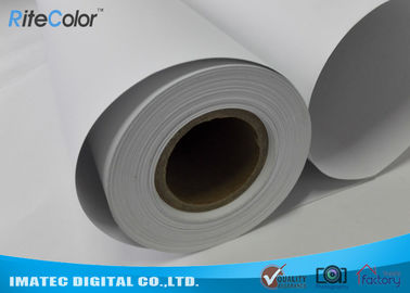 চীন 128G Large Format  Matte Coated Paper Inkjet Printing 30M For Water Based Printer পরিবেশক