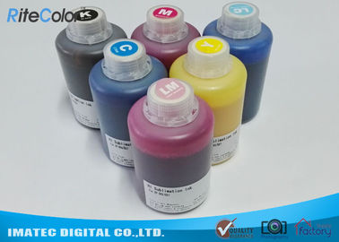 চীন DX-7 Printer Head Dye Sublimation Heat Transfer Ink For T Shirt Printing 1.1kgs Per Bottle পরিবেশক