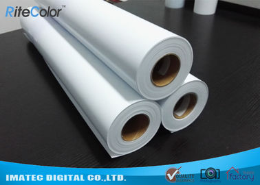 চীন Eco Solvent Matte PP Synthetic Paper , Solvent based Polypropylene Paper for Outdoor Display কারখানা